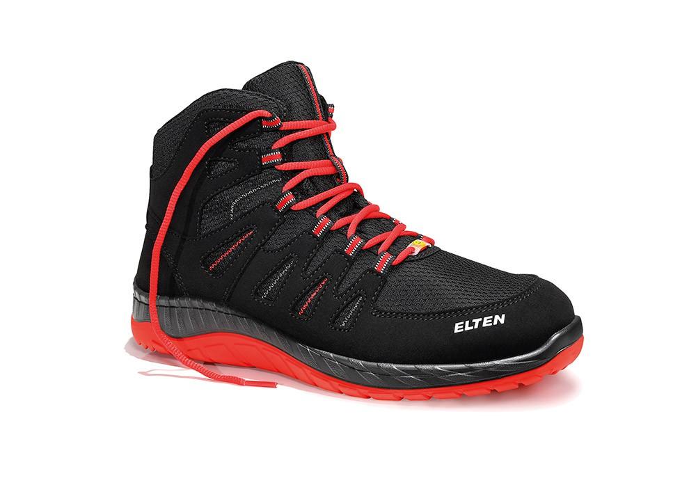 ELTEN - Maddox S3 black-red Mid